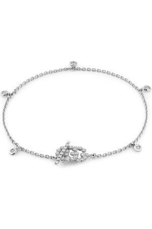 Gucci Damen Uhren - GG Running Armband 18 Karat mit Diamanten