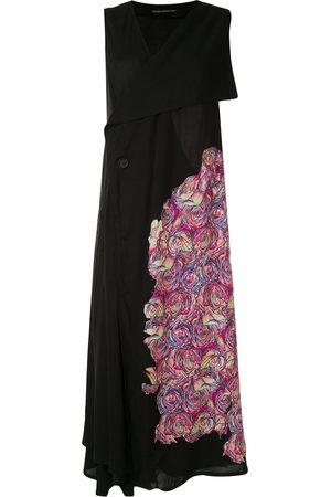 YOHJI YAMAMOTO Kleid mit Rosen-Print