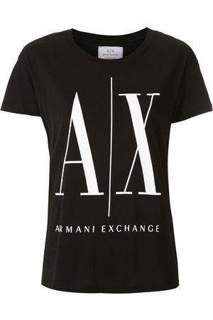 Armani Exchange T-Shirt mit Logo-Print