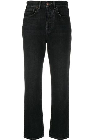 Acne Studios Gerade Cropped-Jeans