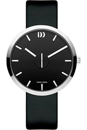 Danish Design Danish Design Unisex Erwachsene Analog Quarz Uhr mit Leder Armband IQ13Q1198