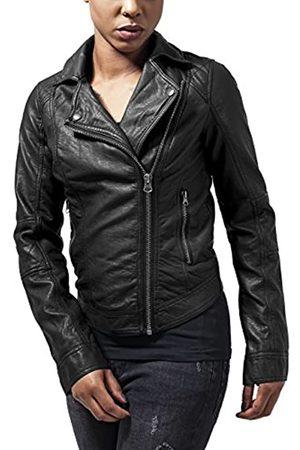 Urban Classics Urban Classics Damen Ladies Leather Imitation Biker Jacket Jacke