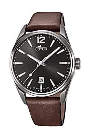 Lotus Lotus Herren Analog Quarz Uhr mit Leder Armband 18685/1