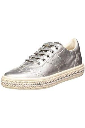 Geox Geox Damen D LEELU' B Brogues, Silber (Silver C1007)