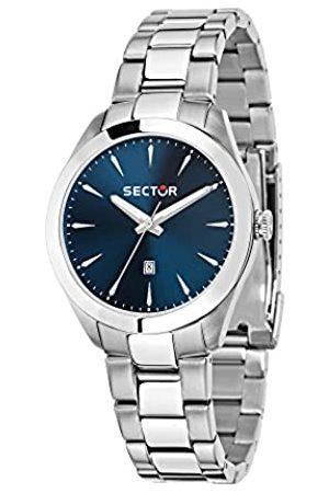 Sector No Limits SECTOR NO LIMITS Damen Analog Quarz Uhr mit Edelstahl Armband R3253588517
