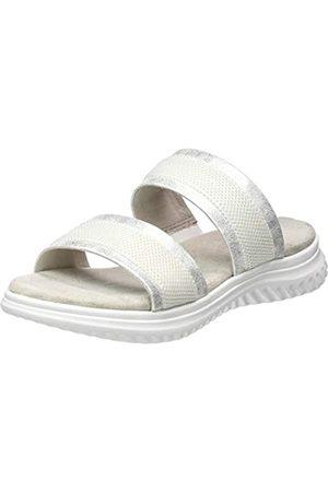 Jana 100% comfort Jana 100% comfort Damen 8-8-27207-24 Pantoletten, Weiß (White 100)