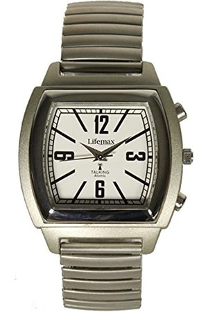 Lifemax Lifemax unisex-Armbanduhr Analog Quarz Edelstahl 1439E