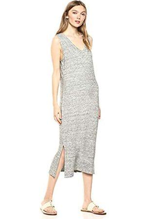 Daily Ritual Amazon-Marke: Daily Ritual Damen superweiches Frottee-Kleid, ärmellos mit V-Ausschnitt