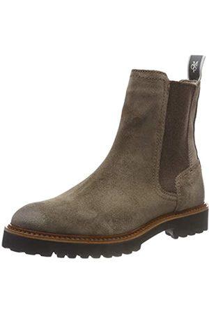 Marc O' Polo Marc O'Polo Damen Flat Heel Chelsea Boots, Grau (Taupe 717)