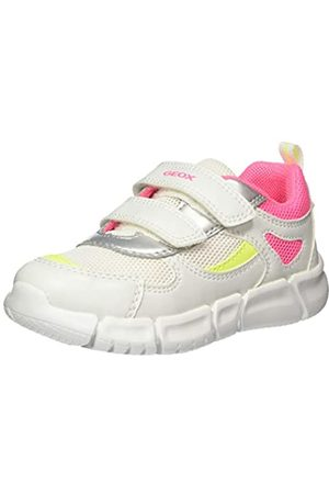 Geox Geox Baby Mädchen B FLEXYPER Girl B Sneaker, Weiß (White/Fuchsia C1441)