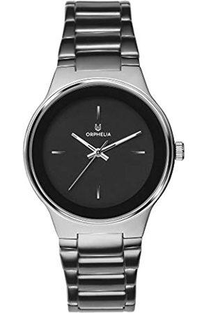 Orphelia Herren Analog Quarz Uhr mit Edelstahl Armband OR62804