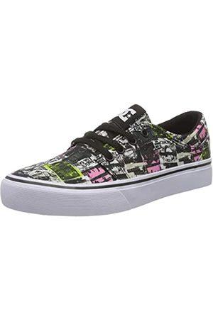 DC DC Shoes Jungen Trase TX SE Skateboardschuhe, Grau (Multi Mud)
