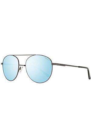 GANT GANT Herren GA7106 Sonnenbrille, Blau (Matte Gunmetal/Blu Mirror)