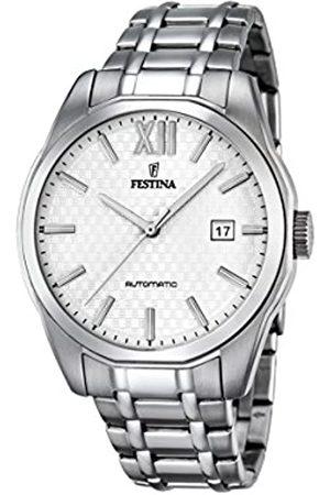 Festina Festina Herren Analog Automatik Uhr mit Edelstahl Armband F16884/2