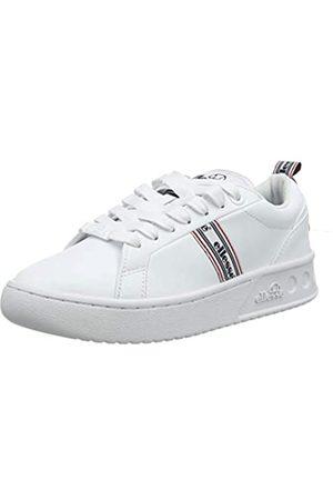 Ellesse Damen Mezzaluna Tp Sneaker, (White/White White/White)