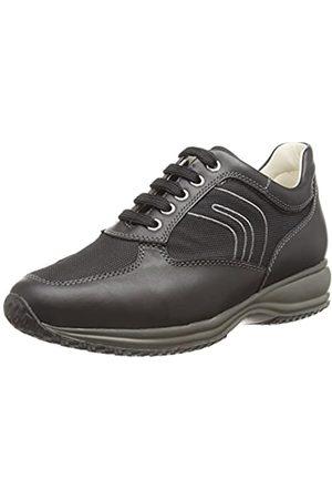 Geox Geox Herren U Happy G Hohe Sneakers, Schwarz (Black)