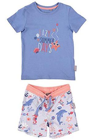 sigikid SIGIKID Mini - Mädchen und Jungen Schlafanzug, Hose und Shirt, 2-teiliger Pyjama aus Bio-Baumwolle