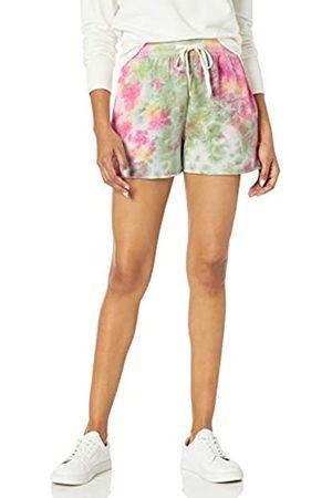 The Drop The Drop Michaela Damen Shorts aus Fleece mit seitlichen Schlitzen