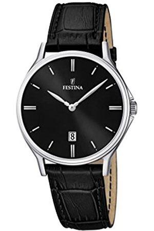 Festina Festina Herren Analog Quarz Uhr mit Leder Armband F16745/5