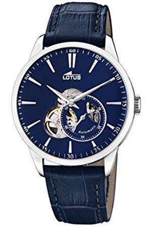 Lotus Lotus Herren Analog Automatisch Uhr mit Echtes Leder Armband 18536/3