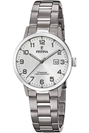 Festina Festina Unisex Erwachsene Analog Quarz Uhr mit Titan Armband F20436/1