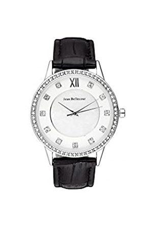 Jean Bellecour Jean Bellecour Unisex Analog Quarz Uhr mit Leder Armband REDK2