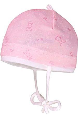 maximo Maximo Baby-Mädchen Little Rabbit Mütze, Rosa (Puderrosa/Pink-Hasen 2)