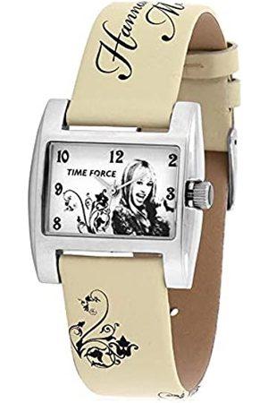 TIME FORCE Jungen Analog Quarz Uhr mit Leder Armband HM1008