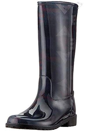 Desigual Desigual Damen Shoes MID RAIN Boot Gummistiefel, Schwarz (Black 2000)