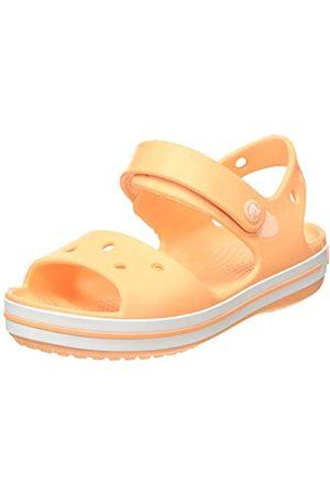 Crocs Crocs Unisex-Kinder Crocband Kids Knöchelriemchen Sandalen, Orange (Cantaloupe 801)