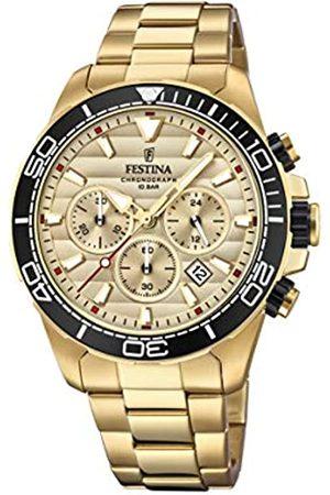 Festina Festina Herren Chronograph Quarz Uhr mit Edelstahl Armband F20364/1