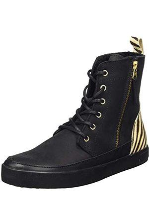 Blackstone Damen SL76 Hohe Sneaker, Mehrfarbig (Zebra Zbra)