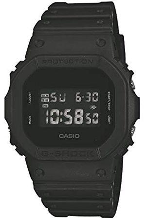 Casio CASIO Herren Digital Quarz Uhr mit Resin Armband DW-5600BB-1ER