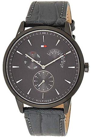 Tommy Hilfiger Tommy Hilfiger Herren Multi Zifferblatt Quarz Uhr mit Leder Armband 1710388