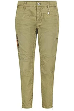 Mac Damen Rich Cargo Straight Jeans, (Hunter Green 351v)