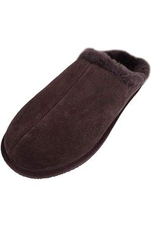 Snugrugs Snugrugs Newbury, Herrenschuhe/Pantolette mit Futter aus Schaffell und Gummisohle