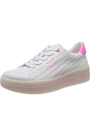 Bugatti Bugatti Damen 432866015057 Sneaker, Weiß (White/Pink 2036)