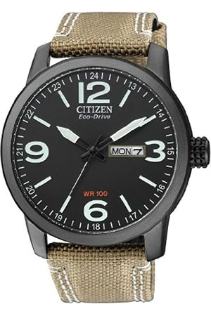 Citizen Citizen Herren Analog Quarz Uhr mit Nylon Armband BM8476-23EE