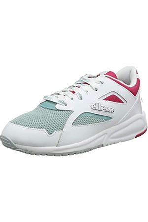 Ellesse Damen Contest Sneaker, (White/Turquoise/Pink Wht/Trqs/Pnk)