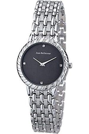 Jean Bellecour Jean Bellecour Unisex Analog Quarz Uhr mit Edelstahl Armband REDS21-SB