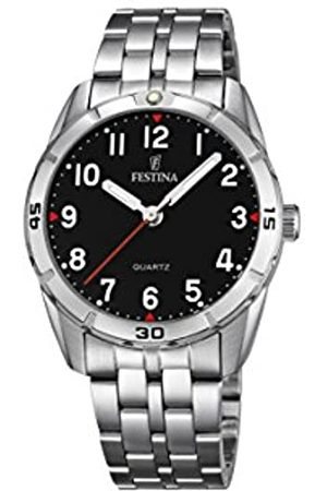 Festina Festina Unisex Analog Quarz Uhr mit Edelstahl Armband F16907/3