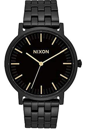 Nixon Nixon Unisex Erwachsene Analog Quarz Uhr mit Edelstahl Armband A10571031-00