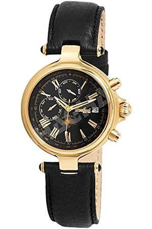 Engelhardt Engelhardt Herren Analog Mechanik Uhr mit Leder Armband 385701029028