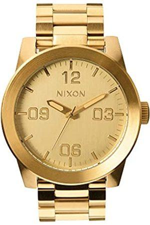 Nixon Nixon Herren Analog Quarz Uhr mit Edelstahl Armband A346502-00