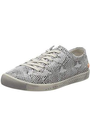 softinos Softinos Damen ISLA Sneaker, Elfenbein (Offwhite 586)