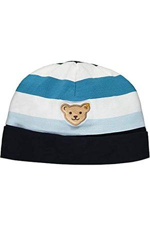 Steiff Steiff Baby-Jungen mit Streifen und Teddybärmotiv Mütze
