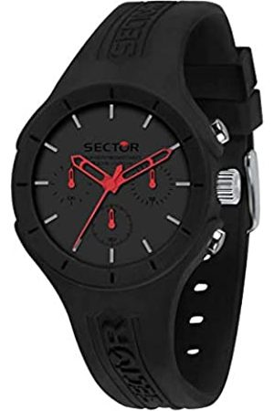 Sector No Limits Sector No Limits Herren Analog Quarz Uhr mit Silikon Armband R3251514013