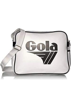 Gola Gola Redford CUB901 Unisex - Erwachsene Henkeltaschen, Weiss (White/Black)