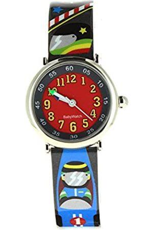 Baby Watch – 606115 – Race – Coffret Lesen Lernen Uhrzeit – Quartz Pädagogische – Zifferblatt Armband Kunststoff Mehrfarbig