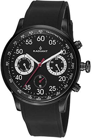 Radiant Radiant Herren Chronograph Quarz Uhr mit Gummi Armband RA444601